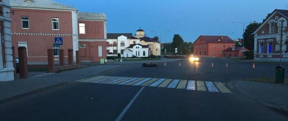 В Орше разбился 30-летний мотоциклист