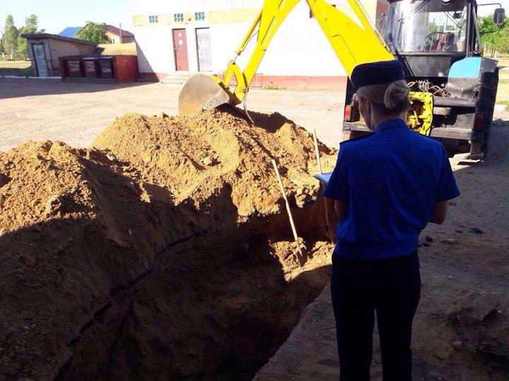 В Иваново во время земляных работ погиб 60-летний рабочий