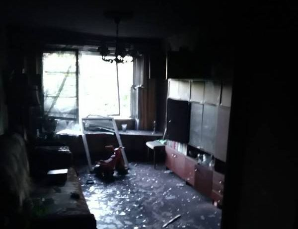 В Барановичах в девятиэтажке произошел пожар, погиб пенсионер