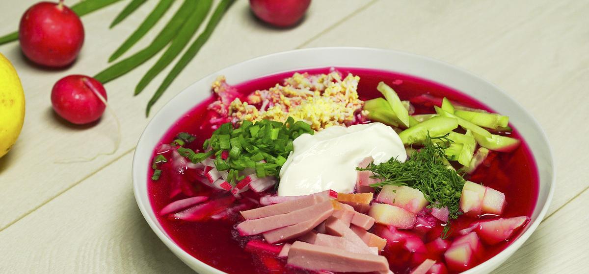 ТОП-3 рецепта холодных супов