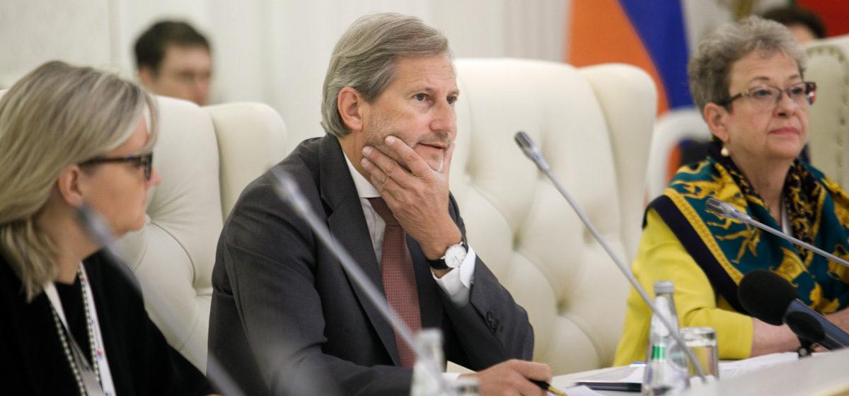 Еврокомиссар: В 2018 году Евросоюз и Беларусь подпишут соглашение о приоритетах партнерства