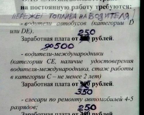 Фотофакт. Три правды о зарплатах белорусов