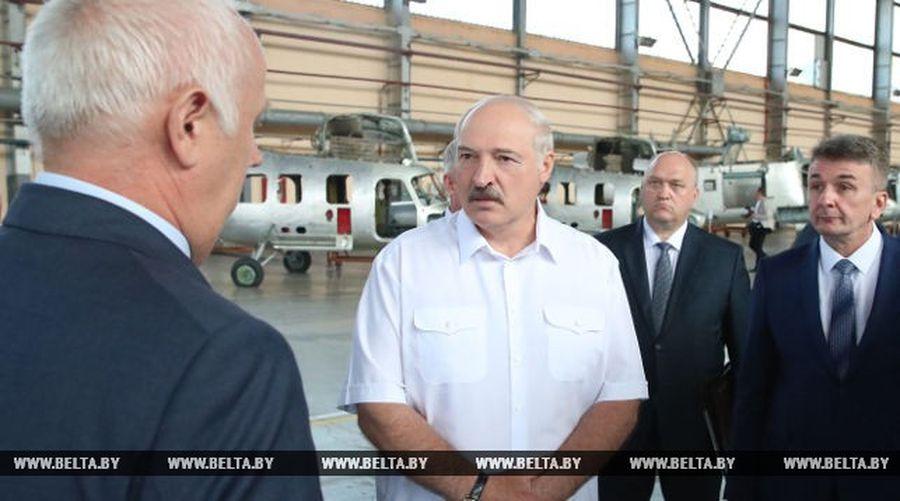 Лукашенко об Оршанском авиаремонтном заводе: это госпредприятие с сегодняшнего дня