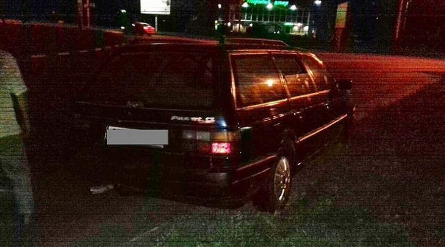 В Гомеле во время аварии женщина выпала из машины
