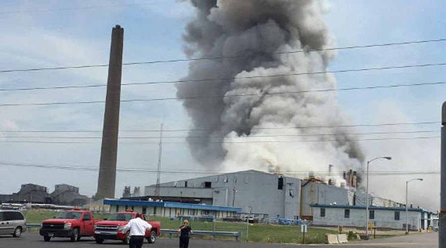 В США произошел взрыв на военном складе, где хранятся ракеты и амуниция, есть пострадавшие