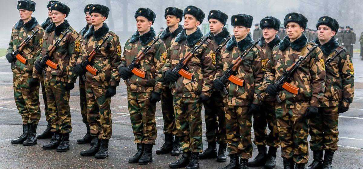 Выпускники в Беларуси смогут перераспределиться на военную службу по контракту