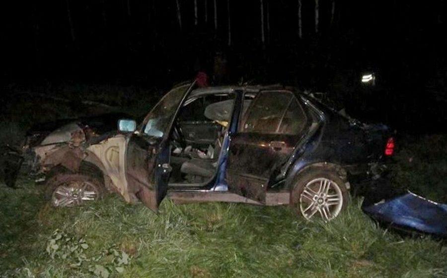 В Ивацевичском районе перевернулся «БМВ», за рулем которого находился 18-летний житель Барановичей