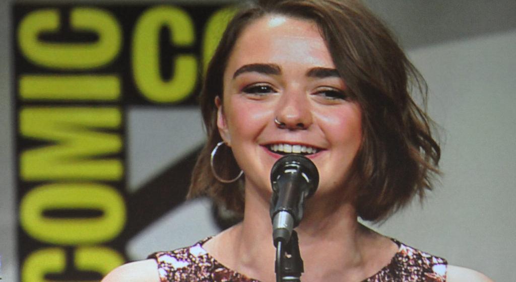 Актриса, которая сыграла Арью Старк, объявила об уходе из «Игры престолов»