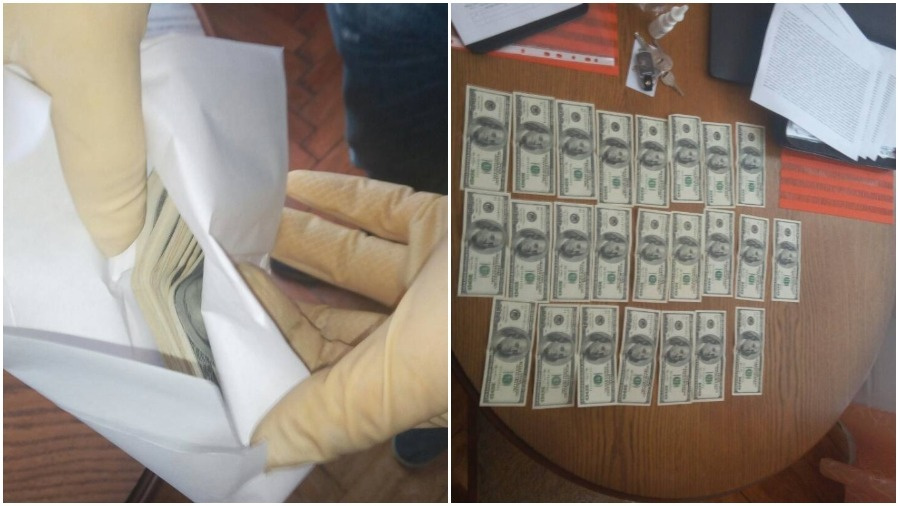 За взятку задержан директор стеклозавода «Неман» (фото, видео)