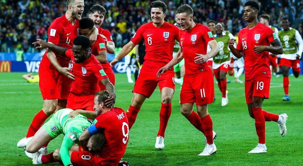 На ЧМ-2018 осталось восемь лучших. Сенсация была близко, но Англия и Кейн идут дальше