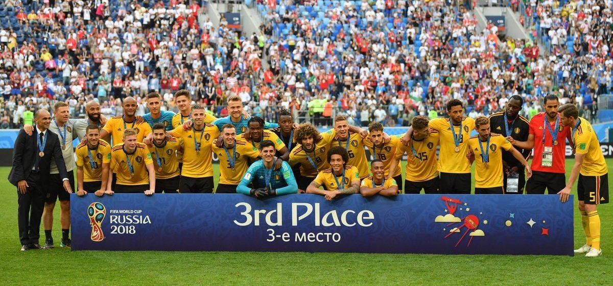 На ЧМ-2018 бронзовые медали выиграла Бельгия. Впервые в истории