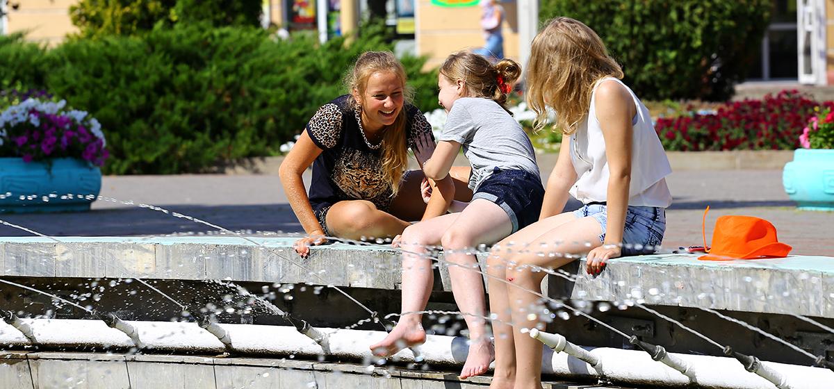 В Беларуси на понедельник, 30 июля, объявлен оранжевый уровень опасности