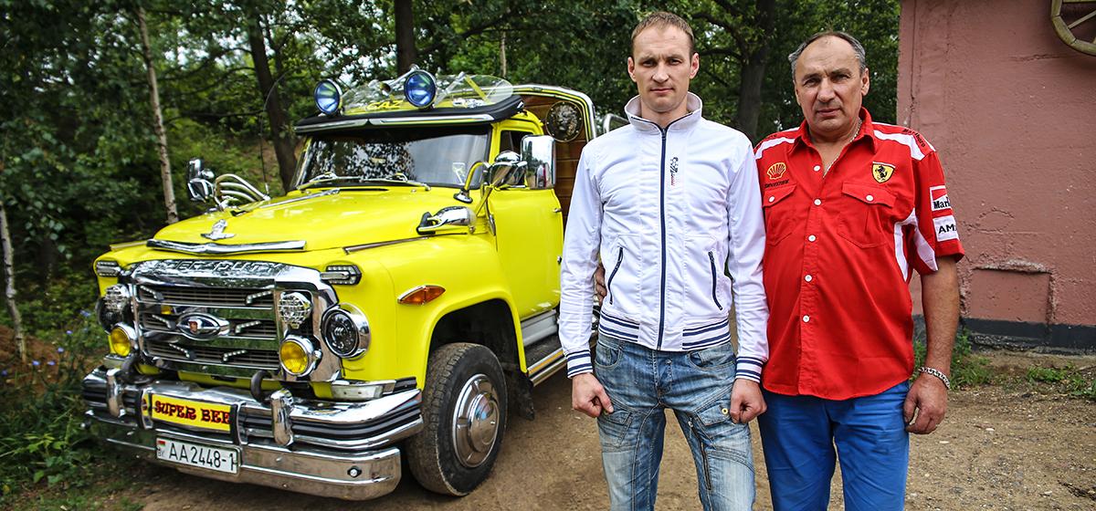 Владелец «желтого грузовичка из Барановичей», который стал хитом на автофестивале SunDay, рассказал, как усовершенствовал свой автомобиль