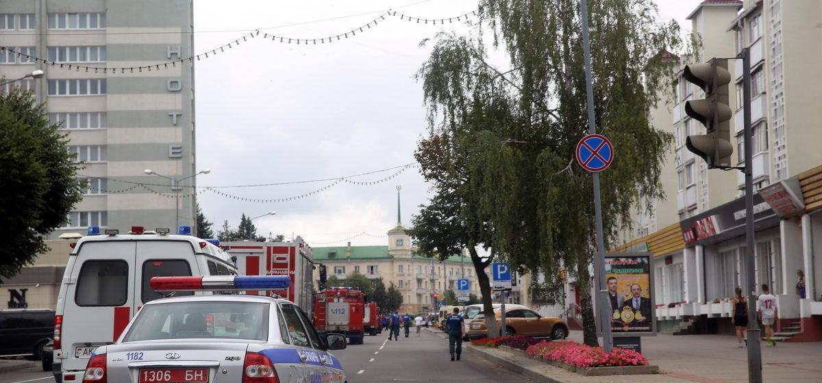 Почему в центре Барановичей ездила колонна машин МЧС