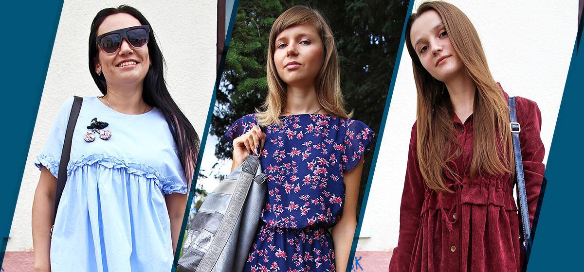 Модные Барановичи. Как одеваются студентки и стилист по волосам
