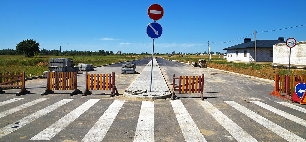 Дорогу «в никуда» проложили в Барановичах в микрорайоне Боровки