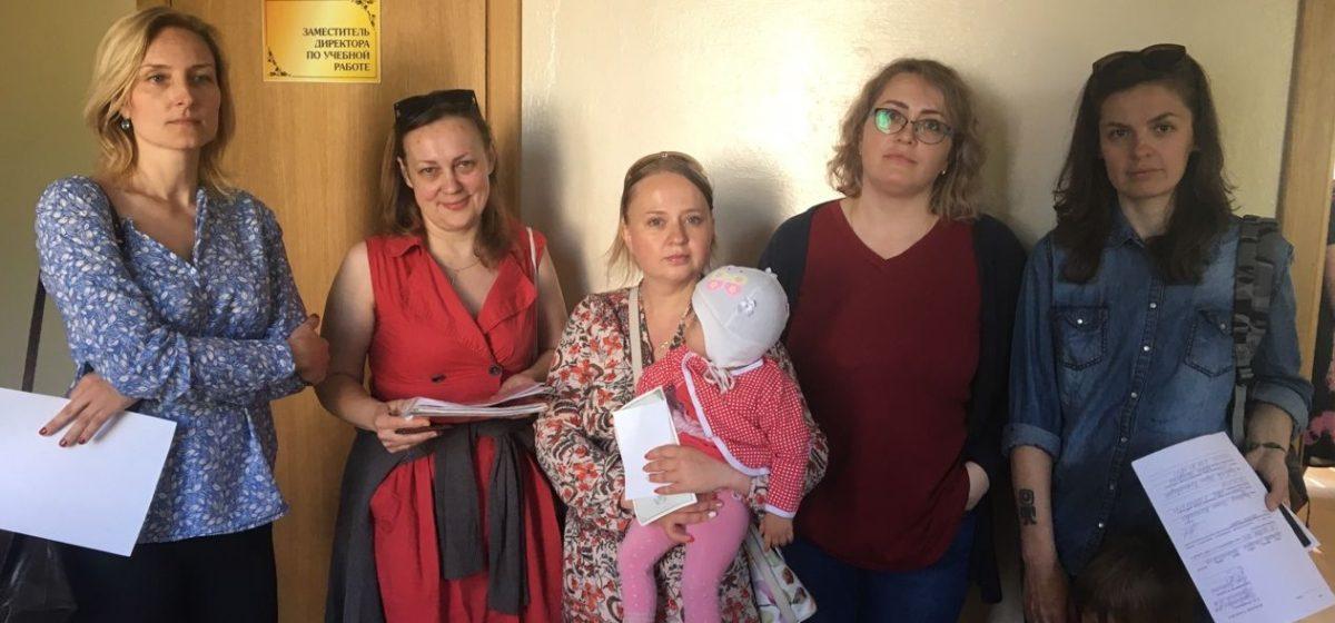У Баранавічах бацькі першакласнікаў дамагліся, каб беларускамоўны клас стварылі ў гімназіі №4