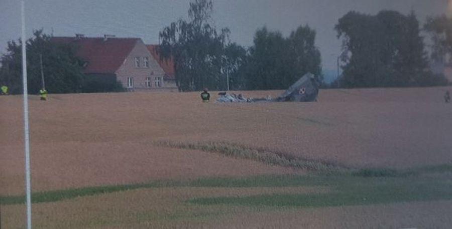 В Польше разбился военный истребитель МиГ-29, пилот катапультировался, но не выжил (видео)