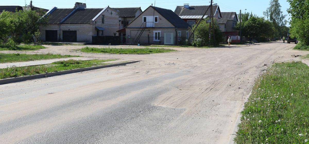 Стало известно, когда продолжится реконструкция улицы Кабушкина в Барановичах