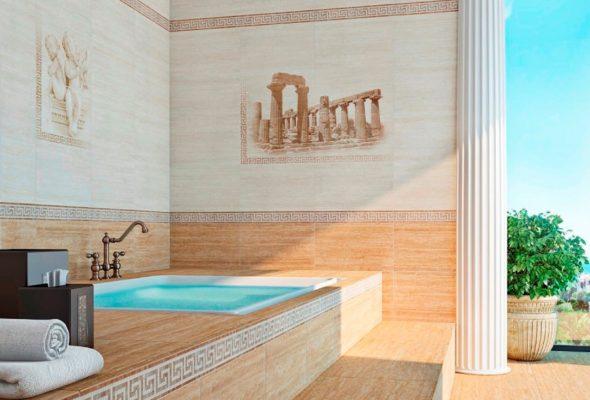 Плитка для ванной – отличное решение для ремонта