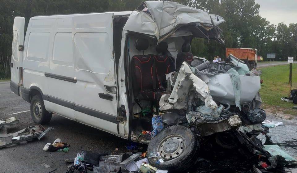 Осужден водитель МАЗа, по вине которого погибли двое детей и их родители
