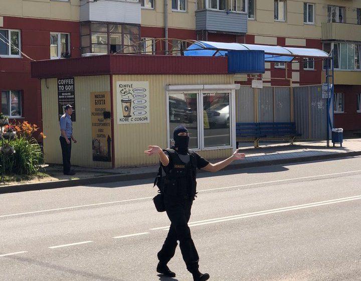 В Заславле «Алмаз» освободил заложника, преступник ликвидирован. Операцией руководил Игорь Шуневич