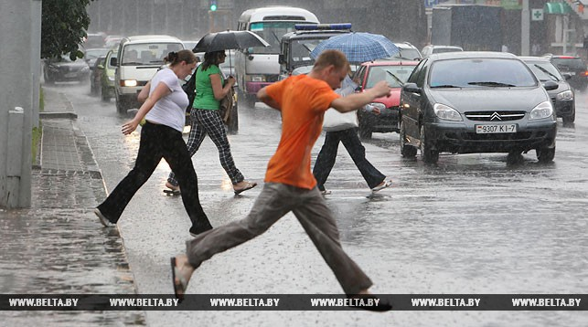 В понедельник погода в Беларуси резко изменится