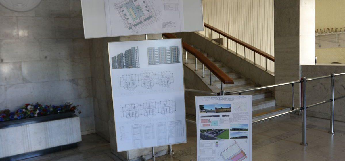 В Барановичах началось общественное обсуждение строительства девятиэтажки на улице Пионерской