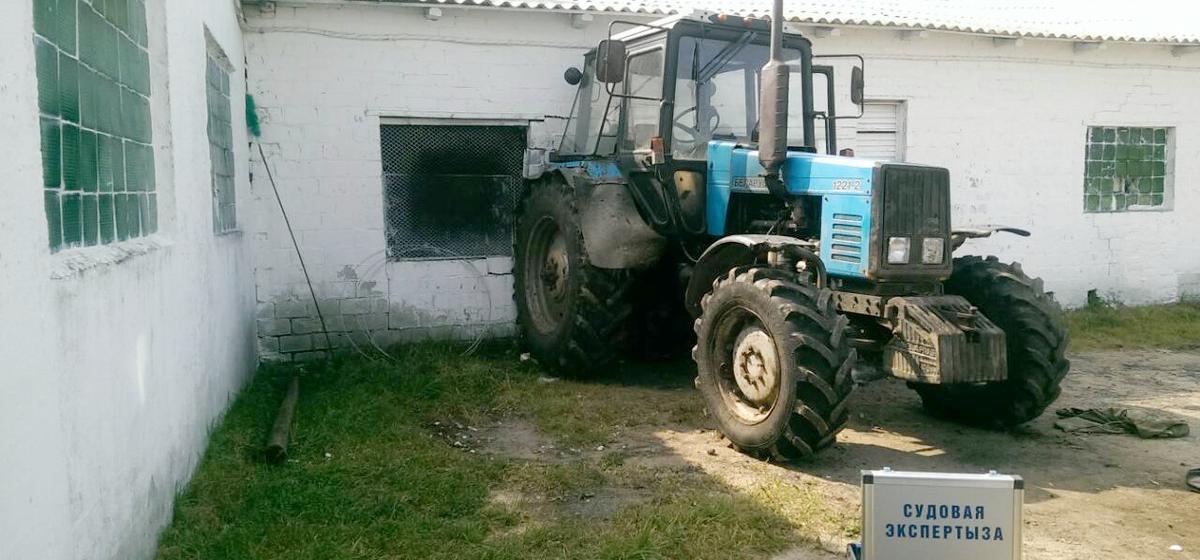 Под Глуском во время ремонта трактор задавил механизатора