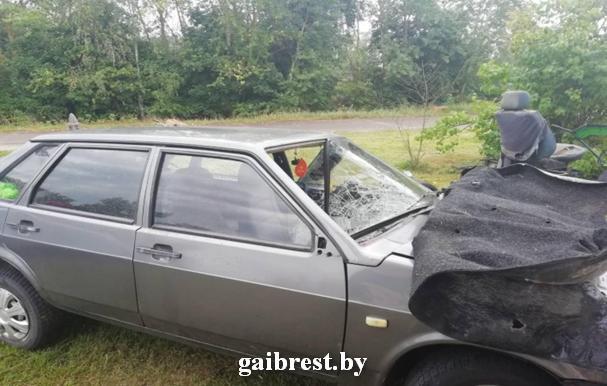 В Барановичском районе бесправник сбил пешехода и скрылся. Пешеход умер