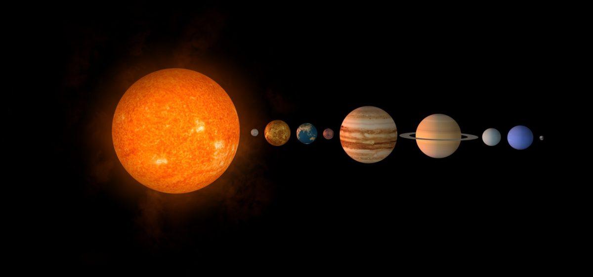 Белорусы смогут наблюдать сближение Луны с Юпитером, Сатурном и Марсом