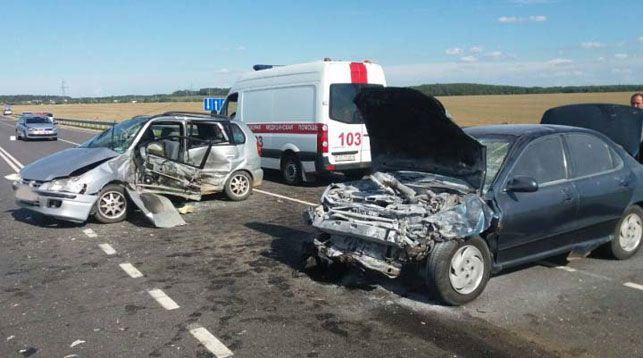 Под Дзержинском в аварии пострадали две женщины и 11-летняя девочка