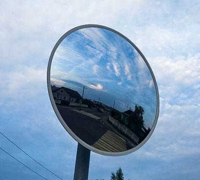 В Ляховичах установили сферическое зеркало