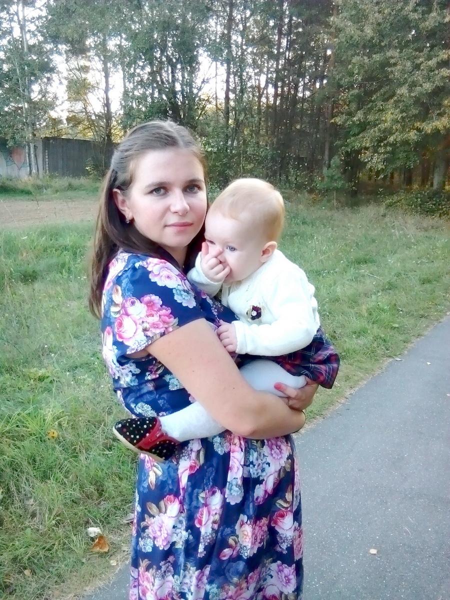 Екатерина Петько с дочерью Яной. Фото: личный архив