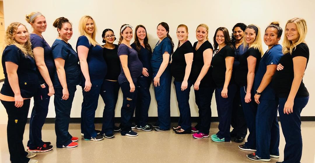 В аризонской больнице одновременно забеременели 16 медсестер