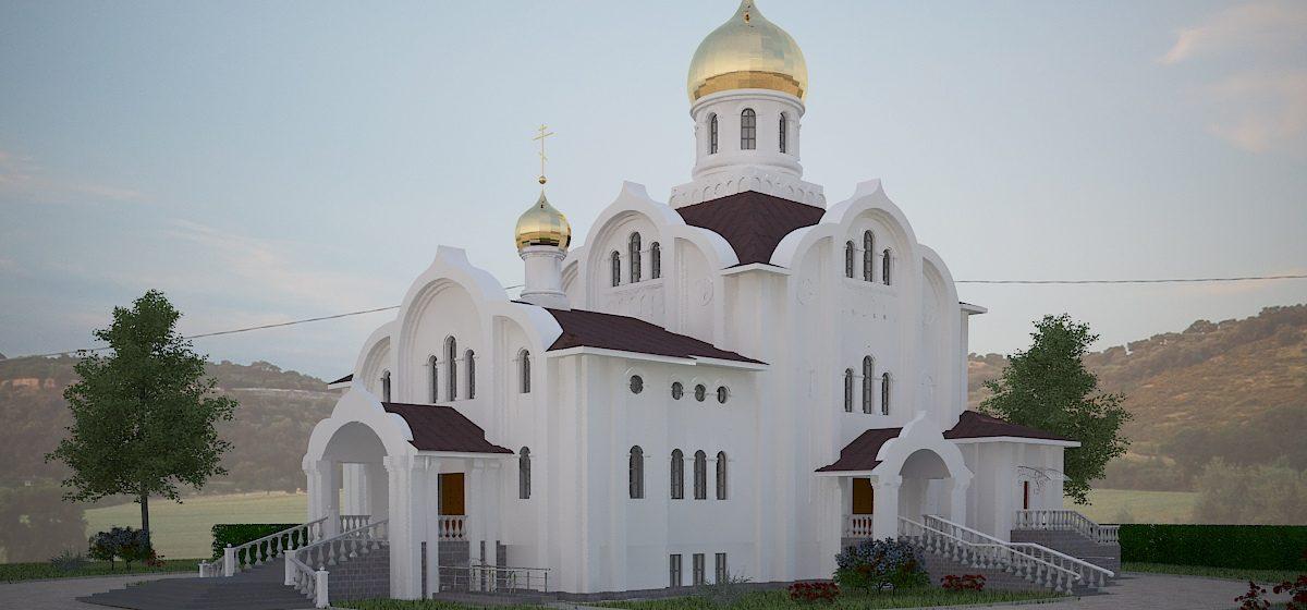 Как будет выглядеть новый православный храм в микрорайоне Боровки в Барановичах