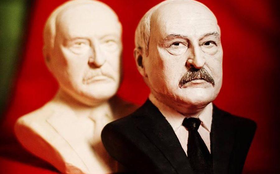 «Смотришь — и сразу хочется работать». Брестский художник сделал свечу в форме бюста президента (фото)