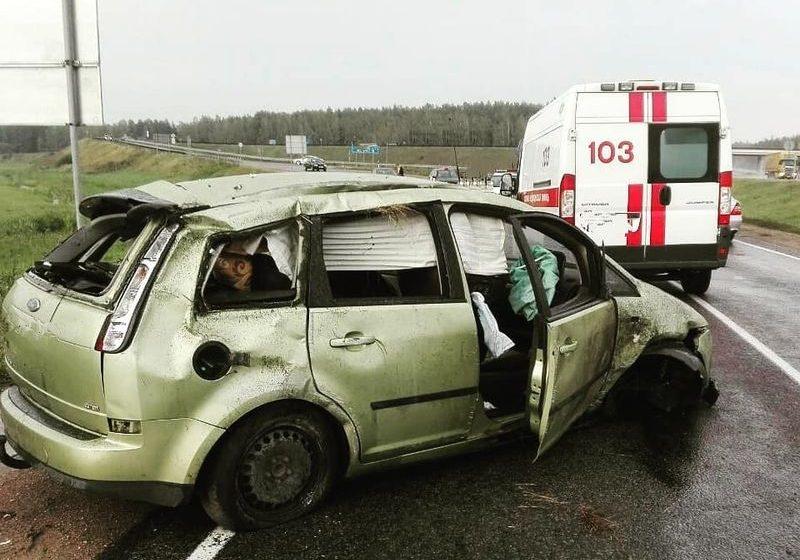 В аварии в Барановичском районе пострадала 5-летняя девочка