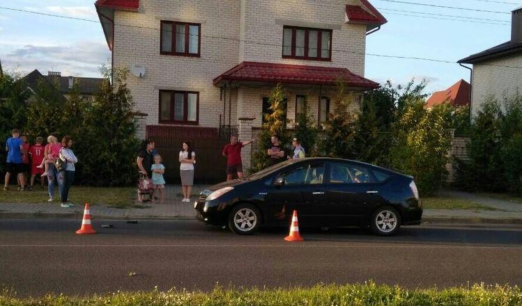 В Барановичах под машину попал 13-летний мальчик