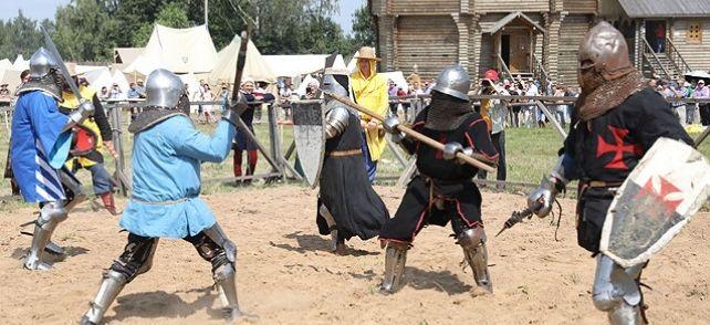 Барановичские рыцари завоевали призовые места на фестивале в Мстиславле
