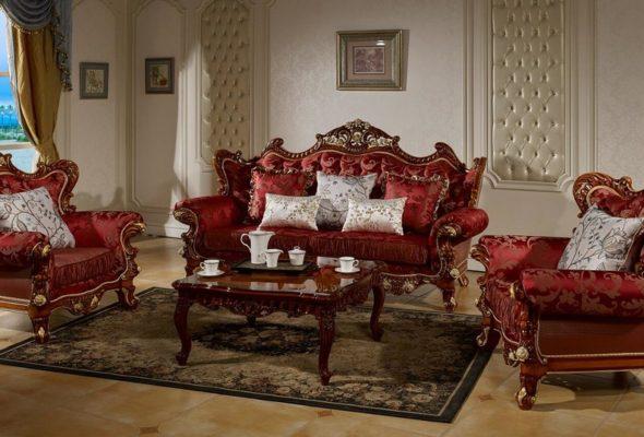 Как приобрести роскошную мебель из Китая для гостиной