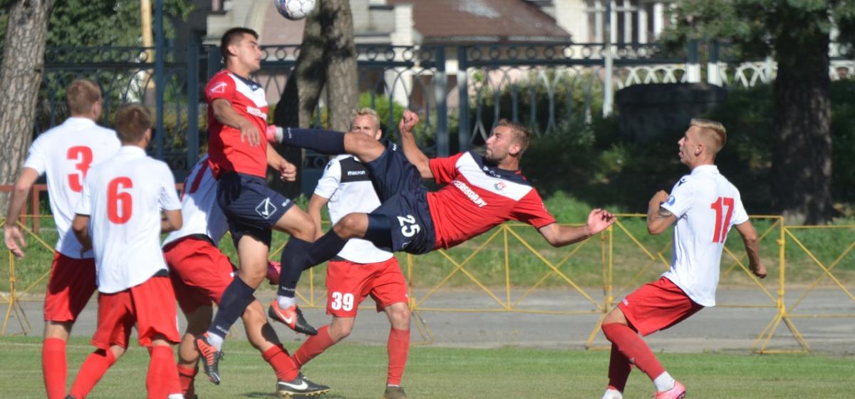 ФК «Барановичи» потерпел поражение в первом матче второго круга чемпионата