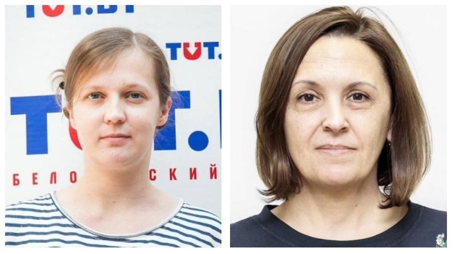 Из изолятора отпустили двух редакторов tut.by — Анну Калтыгину и Галину Уласик