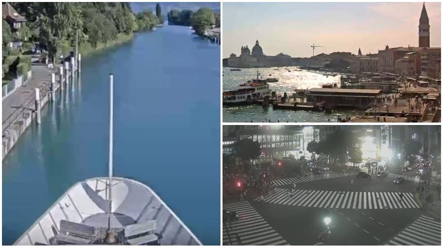 Подборка онлайн трансляций из разных мест мира: Венеция, Нидерланды и озера Швеции