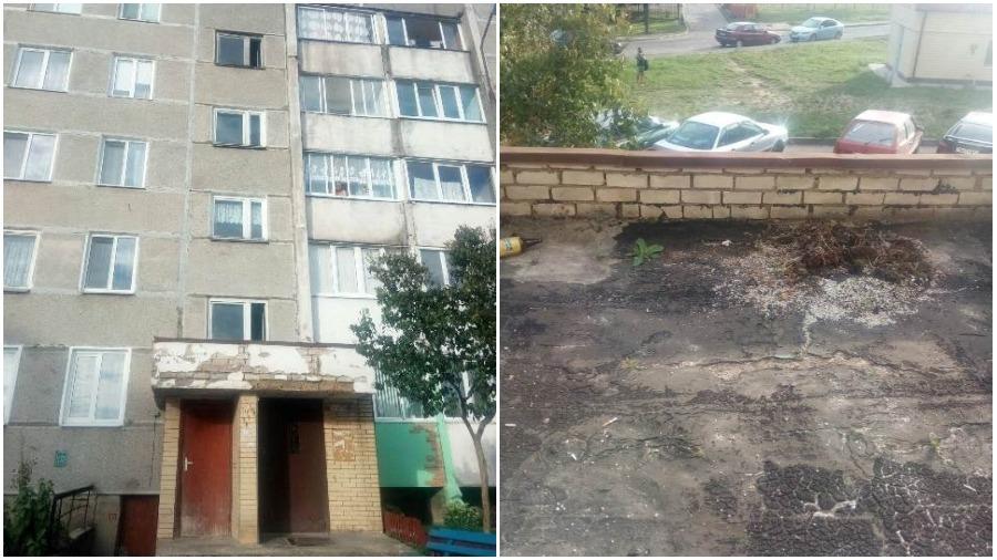 В Ошмянах из окна многоэтажного дома выпал 7-летний мальчик