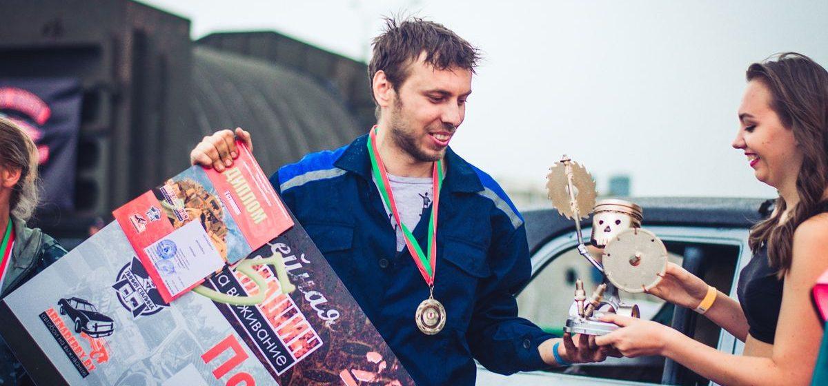 Житель Барановичей стал лучшим в стране в автобоях на выживание