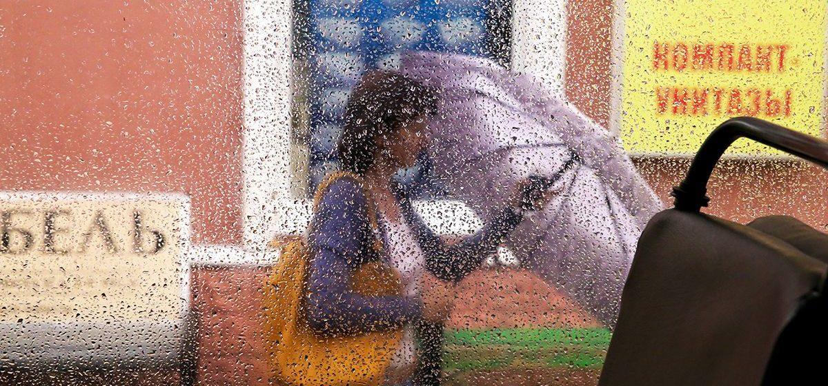 Дожди и грозы. Оранжевый уровень опасности объявлен на 13 августа