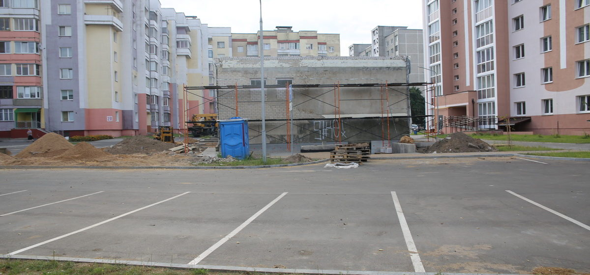 В Барановичах на улице Парковой откроется новый магазин
