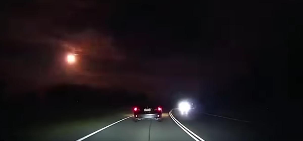 Видеофакт. Над Австралией взорвался крупный метеорит