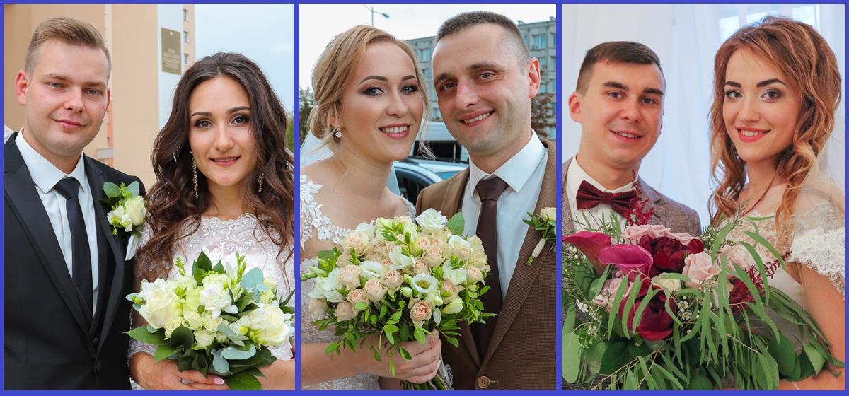 В Барановичском ЗАГСе молодожены расписались в необычный день «трех восьмерок» – 18.08.2018